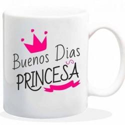 Taza buenos dias princesa